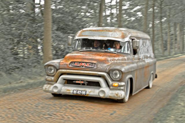 GMC 250/253 Van 1955 (4594)