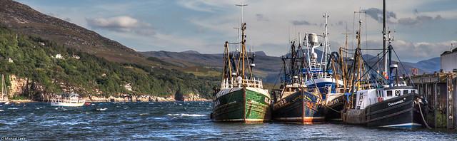 Ullapool and Loch Broom; Ross-shire, Scotland