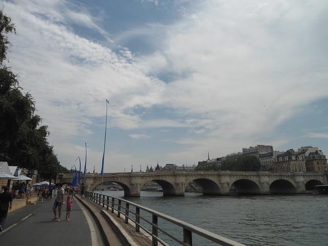 """""""Passeggiata"""", PARIS PLAGES 2014 – www.meEncantaViajar.com"""