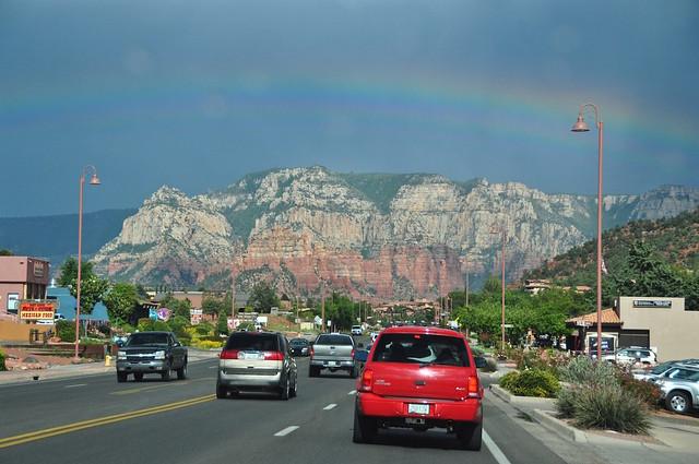 Seeing a Rainbow ~ Sedona, AZ