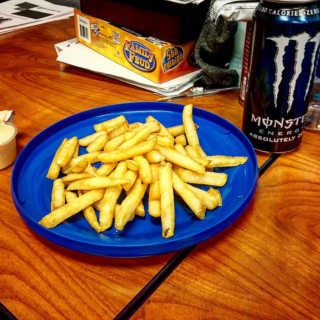 One of my co-workers brought me fries, or hot chips as the… | Flickr