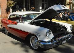 Ballston Spa Car Show: 1955 Oldsmobile Holiday