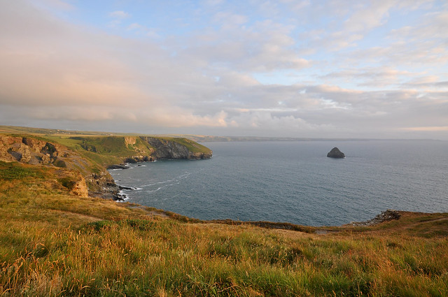 from Tintagel to Trebarwith, the Coastal Path