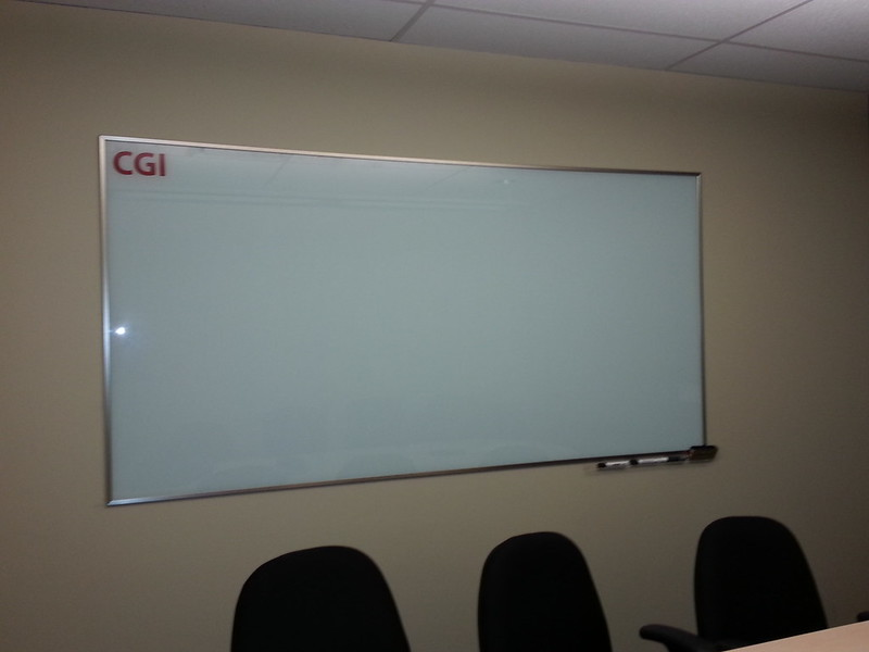 CGI whiteboard glass or plexi