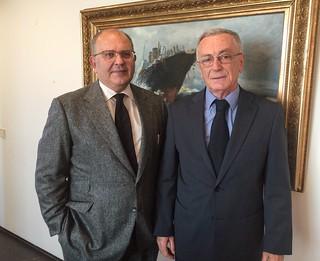 Πραγματοποιηθείσα συνάντηση ΑΝΥΠΕΞ Νίκου Ξυδάκη με τον Πρέσβη της Αλβανίας Dashnor Dervishi (ΥΠΕΞ, 10.11.2015)