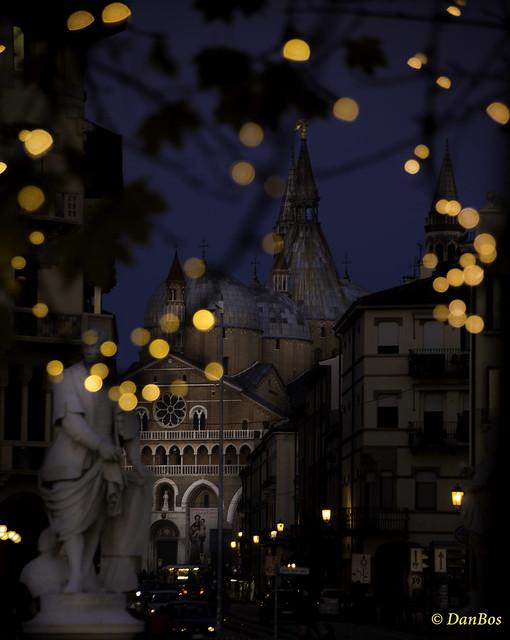 Padova - Saint Anthony Church on Christmans time