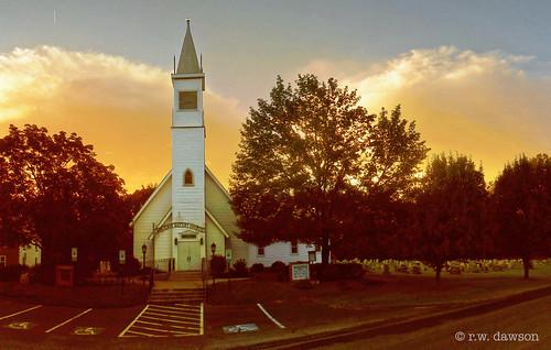 nanjemoy charlescounty maryland md church baptist architecture sunset