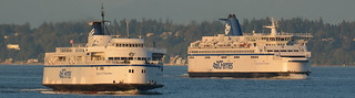 February - March 2017 - 1a - Queen of Nanaimo and SoBC off of Tsawwassen | by West Coast Photography