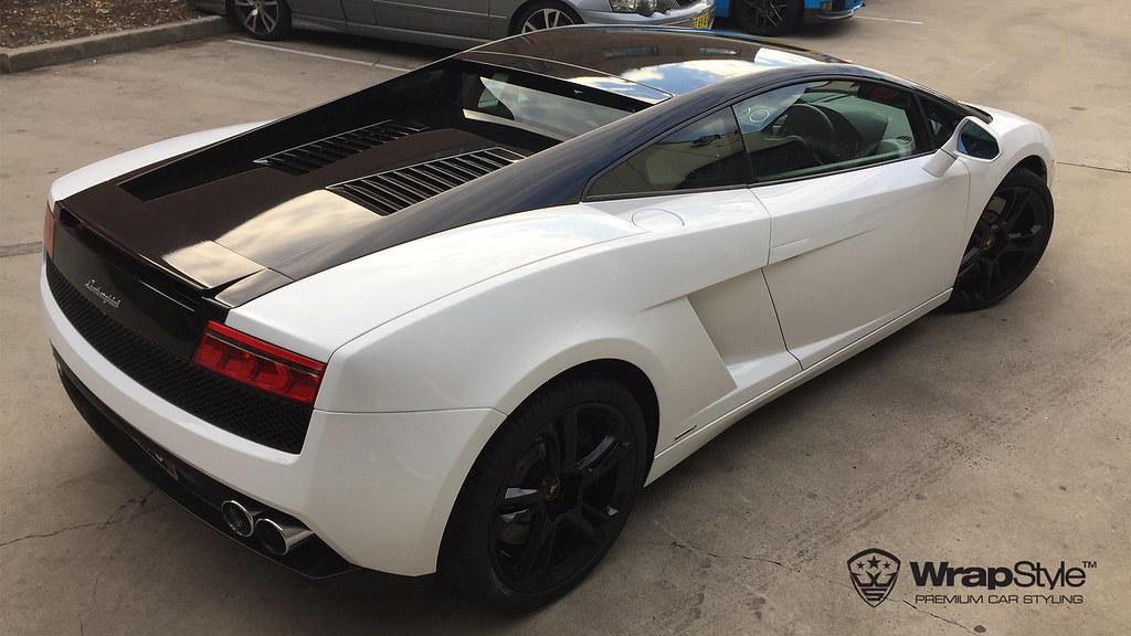 Lamborghini Gallardo White Gloss 01 Wrapstyle Car Wrap Foi Flickr