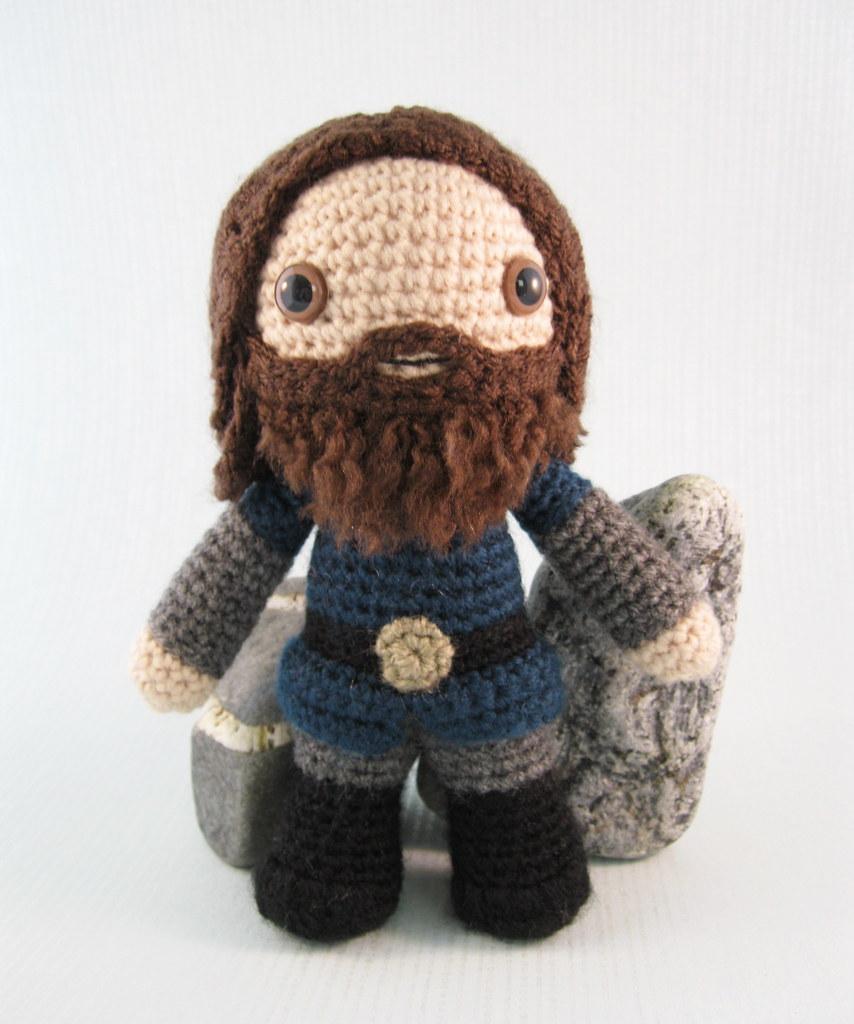 Ed's Dolls Viking Costume Crochet Project: British Wool | TOFT | 1024x854