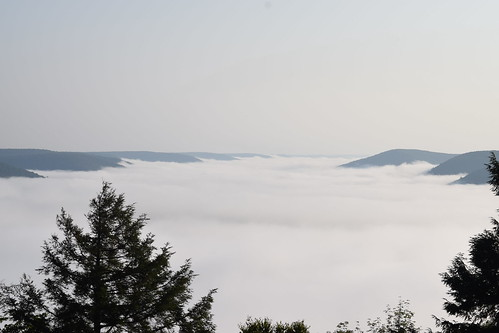 View north from Hemlock Mtn