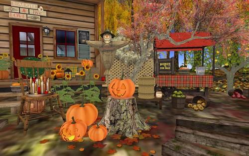Dreamscapes Art Gallery-Pumpkins | by Hidden Gems in Second Life (Interior Designer)