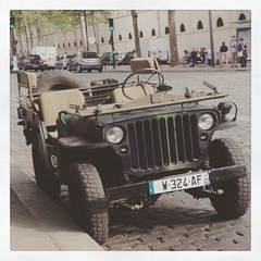 Willys Jeep #jeep #willys #ww2 #paris