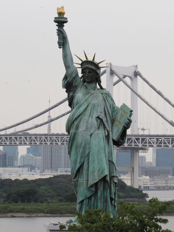 """Fake"" Statue of Liberty"