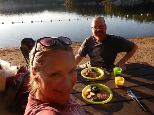 Killarney PP - eten aan George Lake