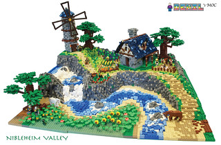 [Denil MOC] Nibleheim Valley - 1 Main | by deniloh85