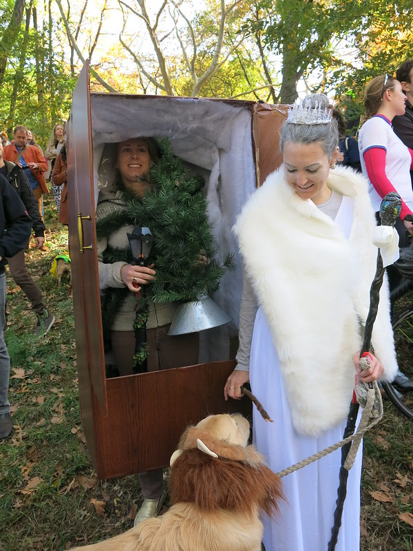 The Lion, The Witch, And The Wardrobe (2015 Pup Costume Contest)