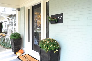 Semi-DIY House Numbers Sign | by emily @ go haus go