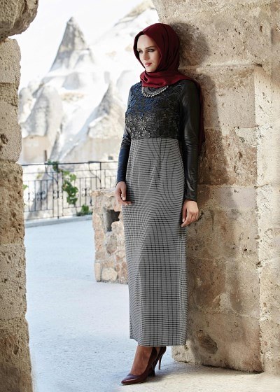 f1abc2a002dd8 ... Alvina Elbise Modelleri 2015 - 2016 Sonbahar Kış Koleksiyonu | by  tesetturlumoda