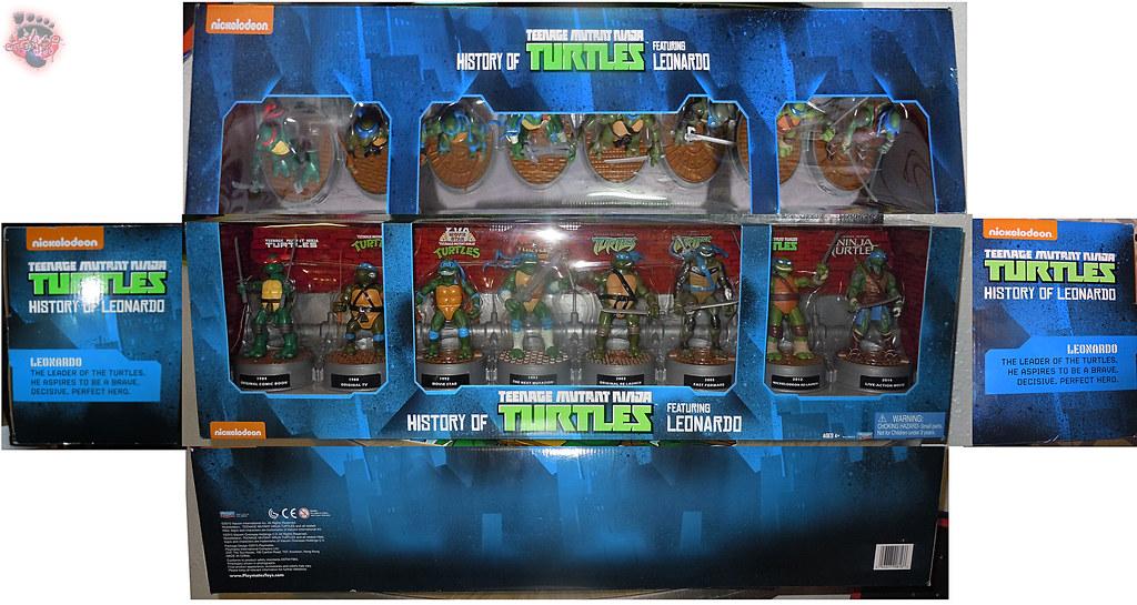 "Nickelodeon ""HISTORY OF TEENAGE MUTANT NINJA TURTLES"" FEATURING LEONARDO box i (( 2015 )) by tOkKa"