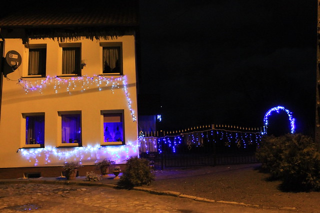 Christmas in Tolkmicko, Warmia, Poland