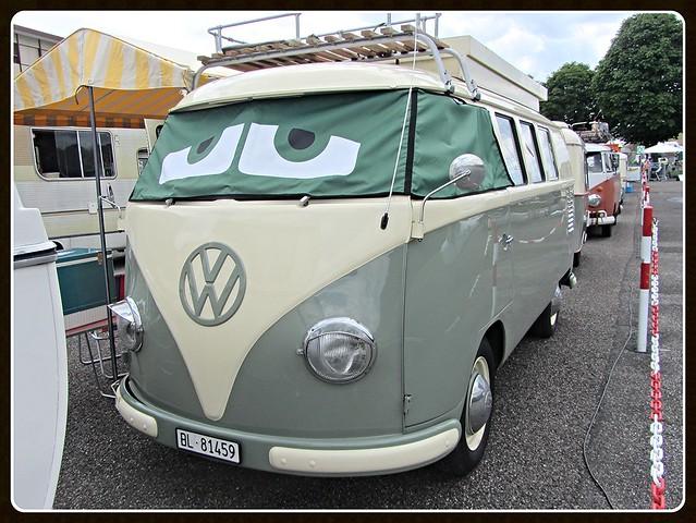 VW Combi T1 Camper, 1956