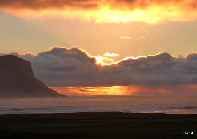 An Early November Maritime Sunset