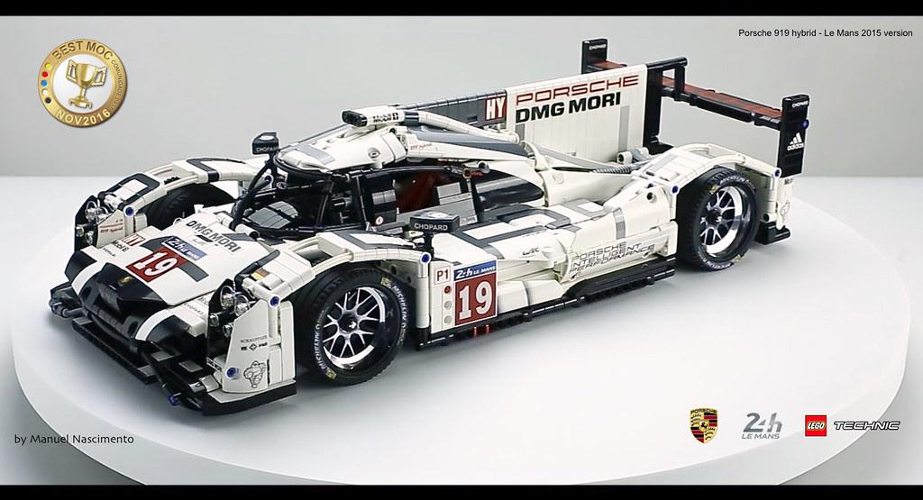 Lego Technic Porsche 919 Le Mans 2015 V Hello Everyon