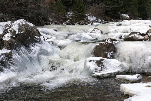 boulder colorado bouldercreek ice cascade winter earthnaturelife wondersofnature