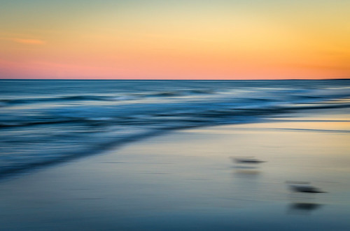 ocean sunset summer blur beach colors us newjersey movement nikon waves unitedstates infinity oceancity atlanticocean tone ocnj panblur d7000