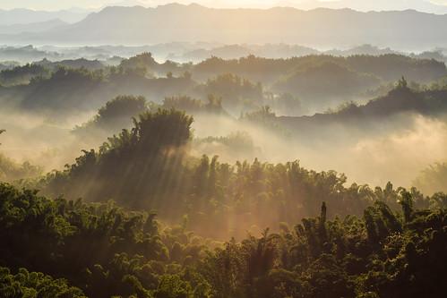 sunrise 台灣 6d 雲海 日出 台南市 二寮 ef24105mm 斜射光 左鎮區