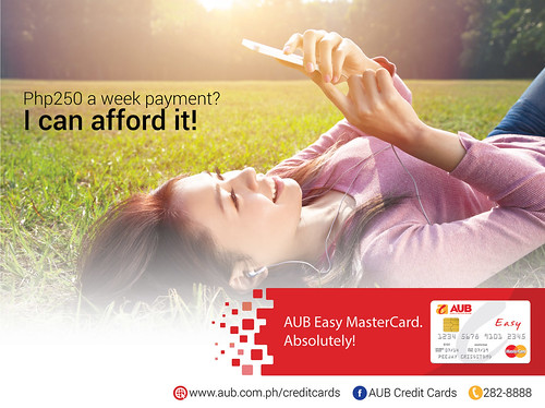 AUB Easy MasterCard_Banner Ad 2 | by martinandrade08