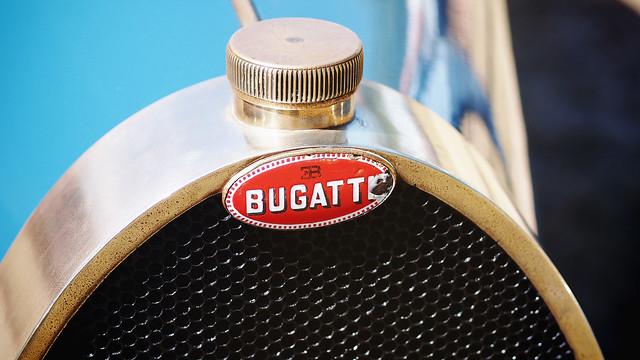 Bugatti in brass