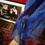 I've got a gorgeous sapphire blue organdy today. I wanna put some Morrocan flaver in my studio (^_−)−☆  今日も御徒町まで材料をゲットし〜その足で日暮里の繊維街へ。 相棒慧子のランジェリーコーナーにはモロッカンテイストを! このサファイアブルーのオーガンジーは美しい*\(^o^)/* 真っ赤な Jay's studio に青いアクセントね。 勿論今回のプチ改装も自分達でDIY! 頑張るよ〜(^o^)/