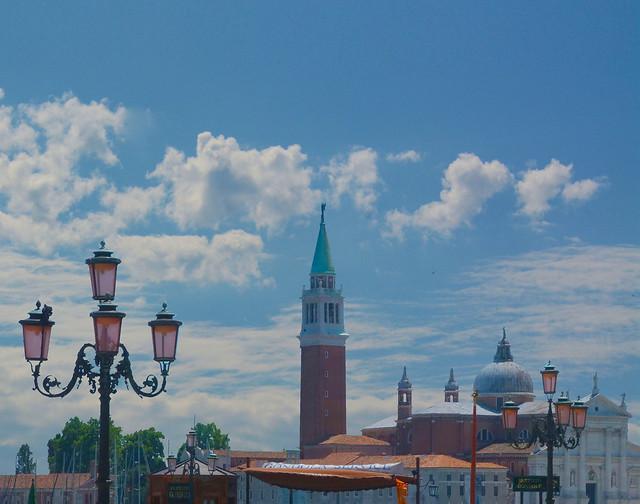 Venice in clouds ----