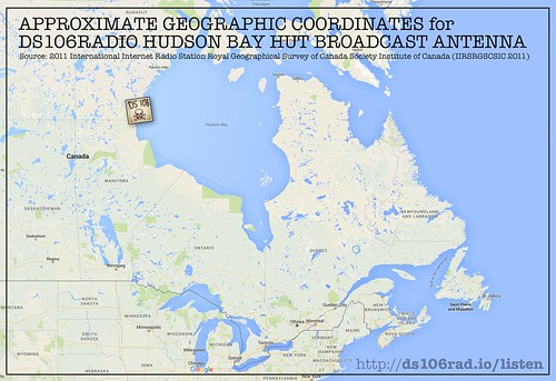DS106Radio Hudson Bay Hut LOCATION | by iamtalkytina