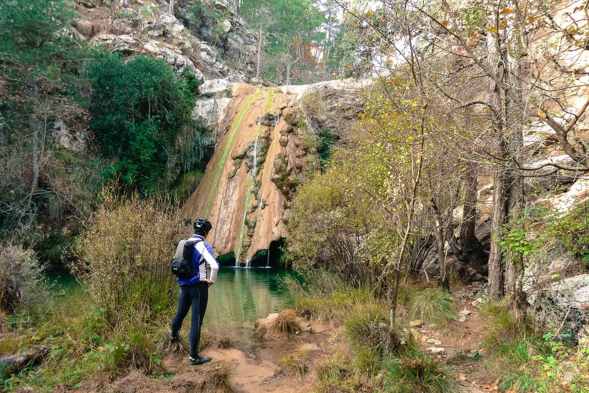 La cascada del Saltador