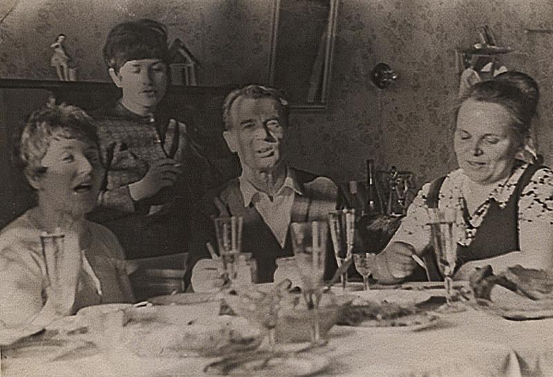 1967 зима мила с подругами в Сортавала2