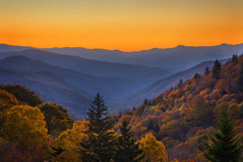 Smoky Mountains Sunrise (Great Smoky Mountain National Park) | by 12thSonOfLama