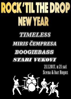 Rockerska Nova godina u Rogozu