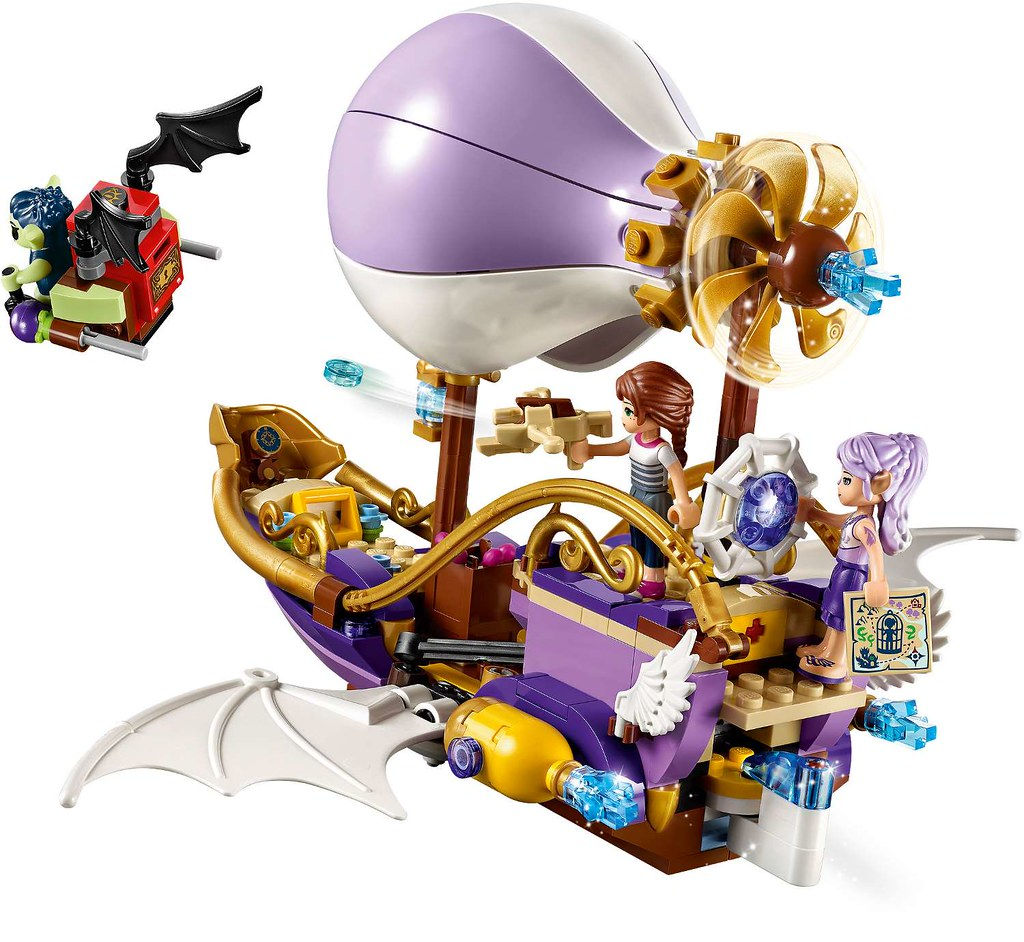 Lego Elves Aira/'s Airship /& the Amulet Chase 41184
