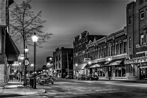 blackandwhite westside baycity streetview streetscape historicdistrict tomclarknet tacphotography nikon nikoncamera
