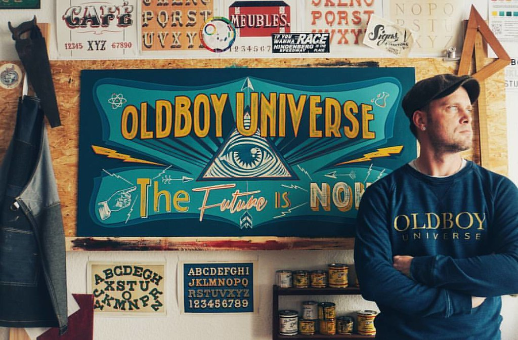 Sign Atelier Leipzig 🎨 Support ~Oldboy Universe~ Berlin36… | Flickr