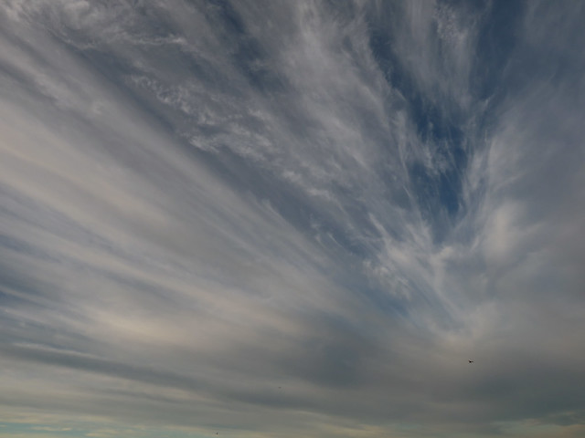 clouds over the pacific POV Great highway, San Francisco (2015)