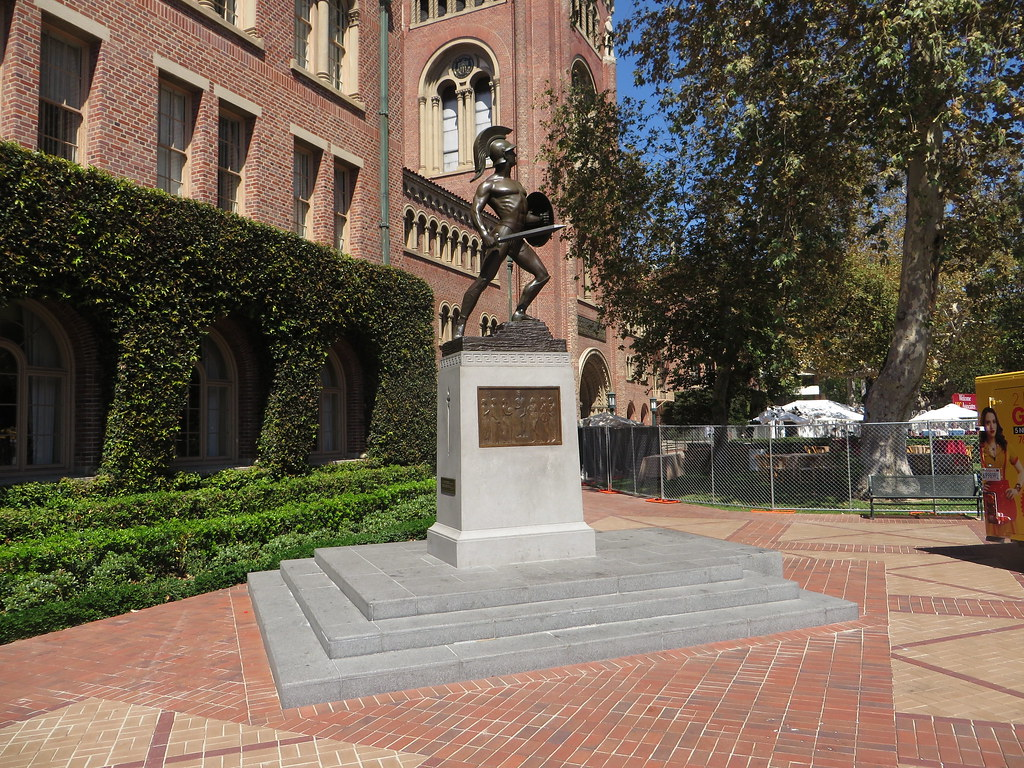 Tommy Trojan, University of Southern California (USC), Los… | Flickr