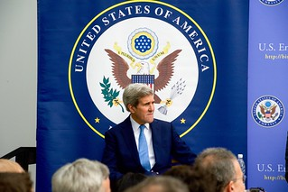 Secretary Kerry at Dedication Ceremony for New Embassy in Bishkek, Kyrgyzstan
