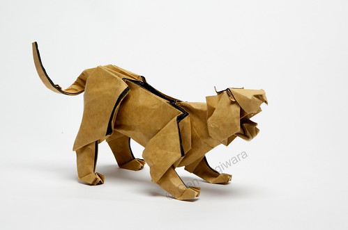 Tiger by Gen Hagiwara | by N. Terry