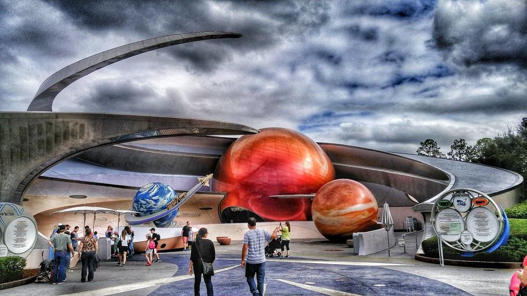 Disney world epcot center.Mission Mars