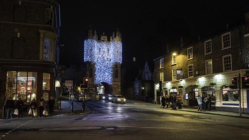 York by night
