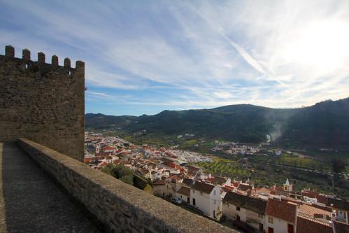 castle portugal ancient oldcity castelodevide
